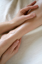 Fußreflexzonentherapie bei Julia Uschkoreit, Praxis für Chinesische Medizin